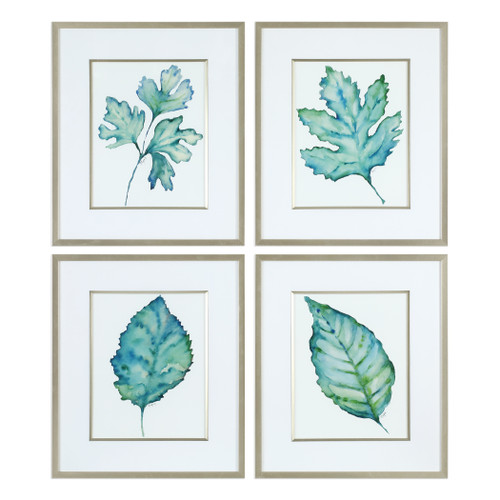 Uttermost Spring Leaves Prints S/4 by Grace Feyock