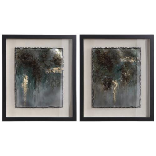 Uttermost Rustic Patina Framed Prints, Set/2 by Grace Feyock