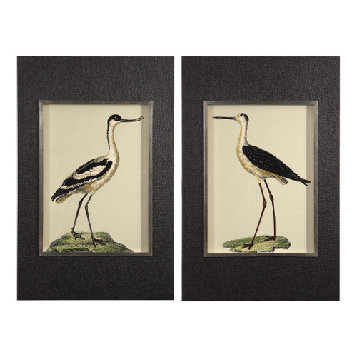 Uttermost Birds On The Shore Prints, S/2 by Grace Feyock