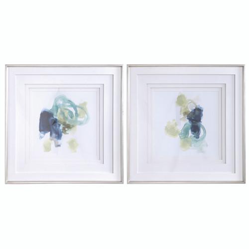 Uttermost Integral Motion Framed Prints, Set/2