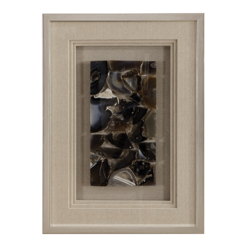 Uttermost Seana Agate Stone Shadow Box by Grace Feyock