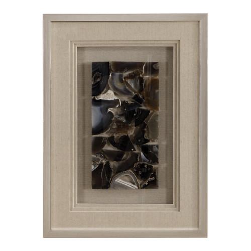Uttermost Seana Agate Stone Shadow Box by Grace Feyock