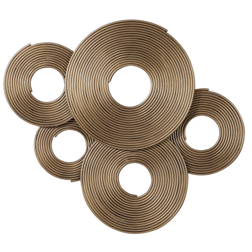 Uttermost Ahmet Gold Rings Wall Decor by Jim Parsons