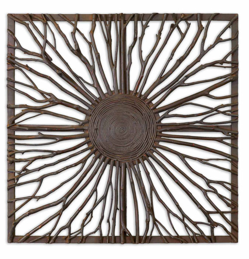Uttermost Josiah Square Wooden Wall Art by Grace Feyock