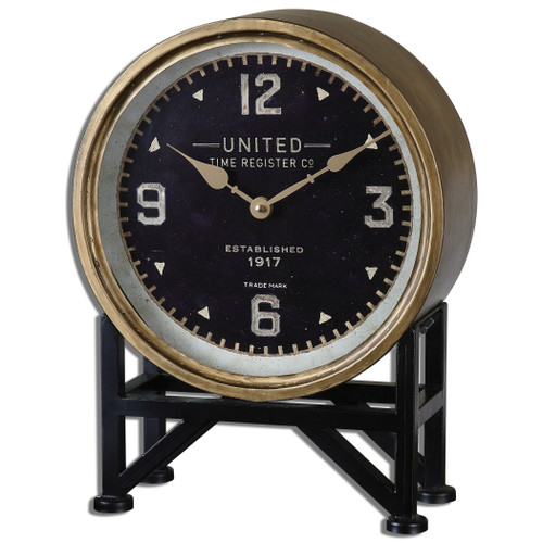 Uttermost Shyam Table Clocks by Steve Kowalski