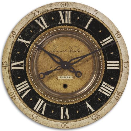 "Uttermost Auguste Verdier 27"" Wall Clock"