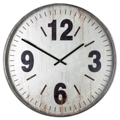 Uttermost Marino Oversized Wall Clock by Grace Feyock