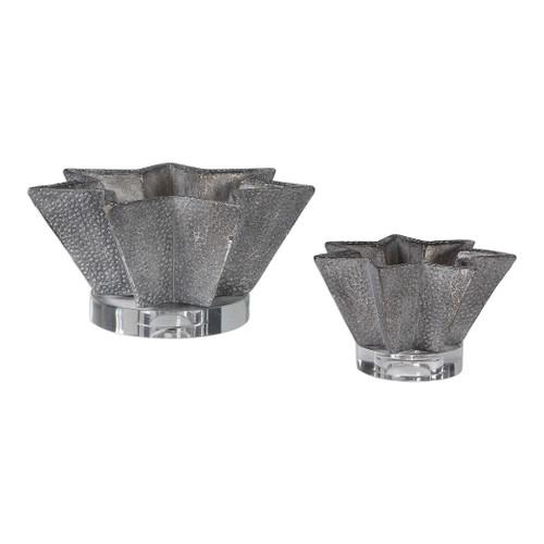 Uttermost Kayden Star-Shaped Bowls Set/2 by David Frisch