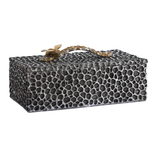 Uttermost Hive Aged Black Box by Grace Feyock