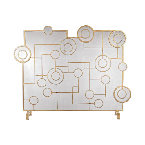 Uttermost Frankie Contemporary Fireplace Screen by David Frisch