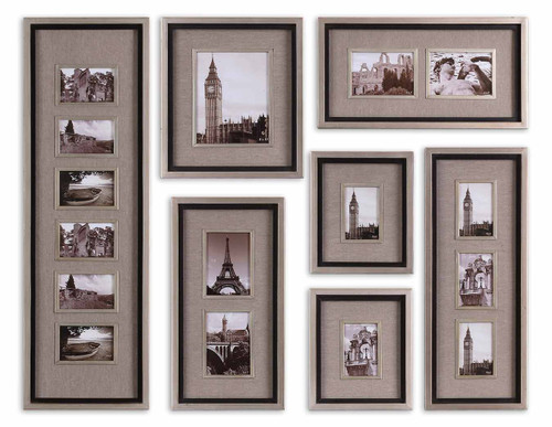 Uttermost Massena Photo Frame Collage, S/7 by Grace Feyock