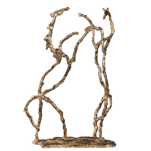 Uttermost Equine Gold Sculpture by Matthew Williams
