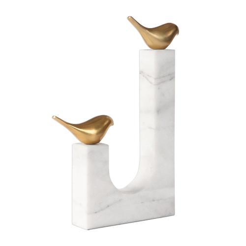 Uttermost Songbirds Brass Sculpture by David Frisch