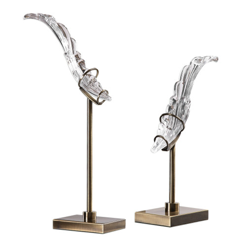 Uttermost Wings Sculpture S/2