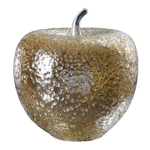 Uttermost Golden Apple Sculpture