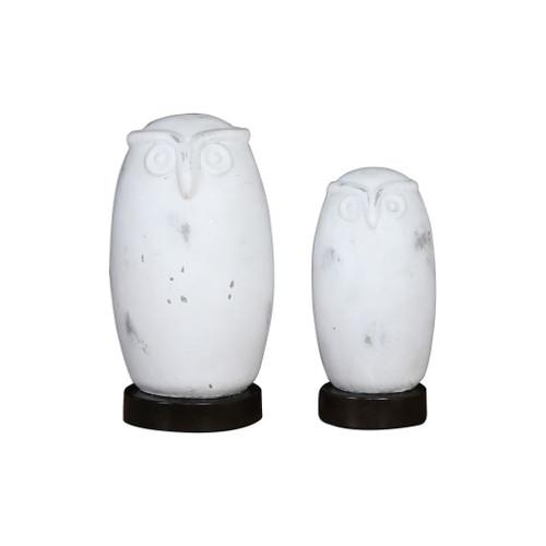 Uttermost Hoot Owl Figurines Set/2 by David Frisch