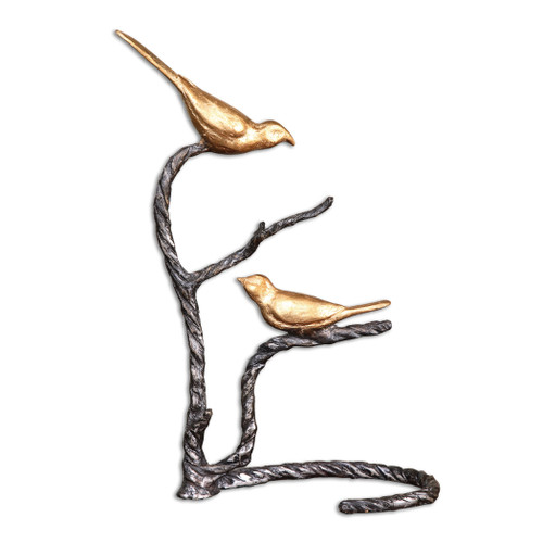 Uttermost Birds On A Limb Sculpture by Matthew Williams