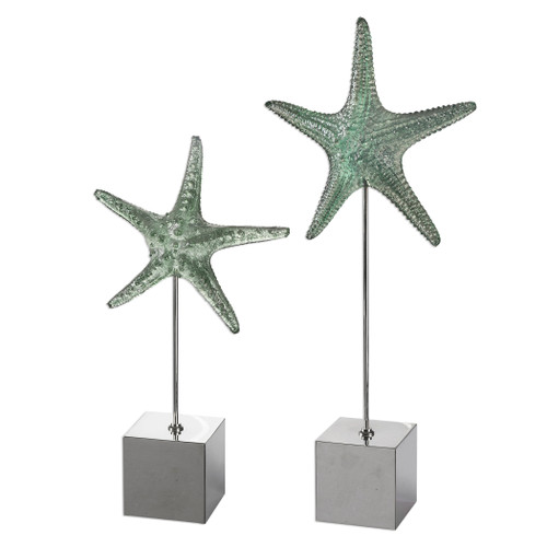 Uttermost Starfish Sculpture S/2 by David Frisch