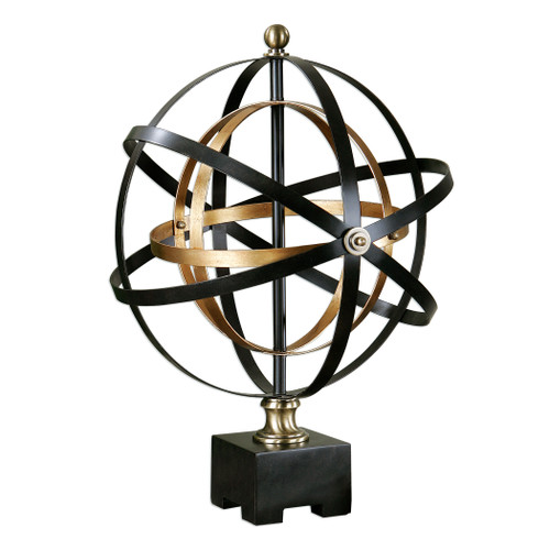 Uttermost Rondure Orb Sculpture by Carolyn Kinder