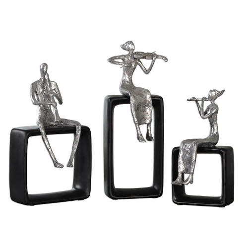 Uttermost Musical Ensemble Statues, S/3 by Billy Moon