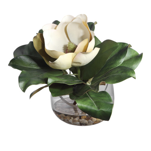 Uttermost Celia Silk Magnolia Accent by Constance Lael-Linyard