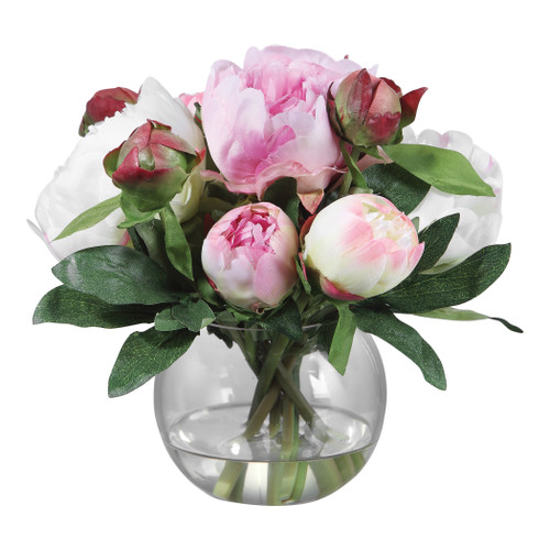 Uttermost Blaire Peony Bouquet by Constance Lael-Linyard