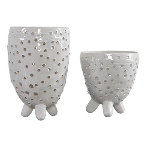 Uttermost Milla Mid-Century Vases, S/2 by Renee Wightman
