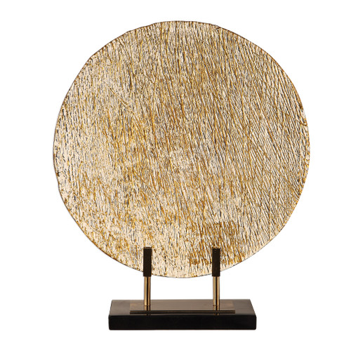 Uttermost Layan Art Glass Charger by Jim Parsons