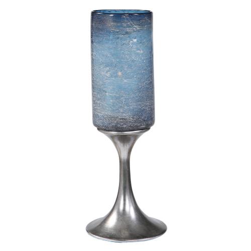 Uttermost Gallah Blown Glass Candleholder by Matthew Williams