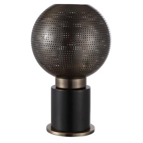 Uttermost Branham Bronze Globe Candleholder by John Kowalski