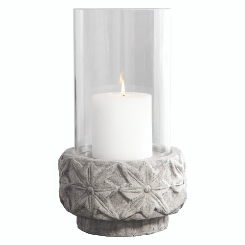 Uttermost Capistrano Concrete Candleholder by Renee Wightman