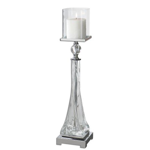 Uttermost Grancona Glass Candleholder by Carolyn Kinder