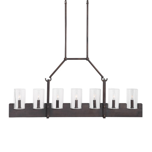 Uttermost Pinecroft, 7 Light Island Linear Pendant by Kalizma Home