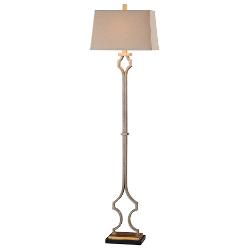 Uttermost Vincent Gold Floor Lamp by Billy Moon