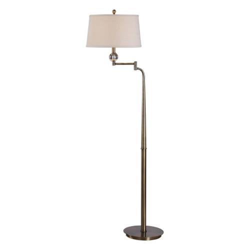 Uttermost Melini Swing Arm Floor Lamp by Jim Parsons