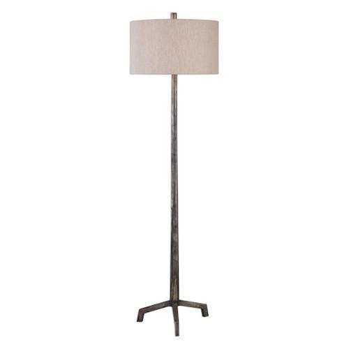 Uttermost Ivor Cast Iron Floor Lamp by Jim Parsons
