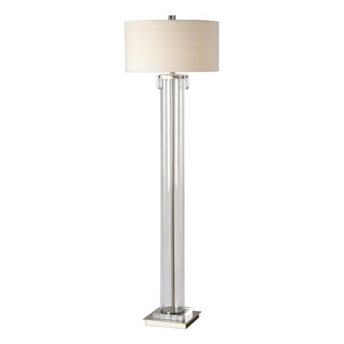 Uttermost Monette Tall Cylinder Floor Lamp by Jim Parsons