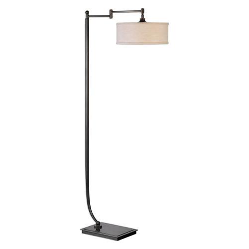 Uttermost Lamine Dark Bronze Floor Lamp by Jim Parsons