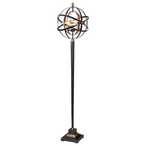 Uttermost Rondure Sphere Floor Lamp by Carolyn Kinder