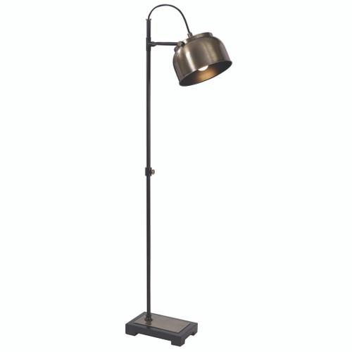Uttermost Bessemer Industrial Floor Lamp by Jim Parsons