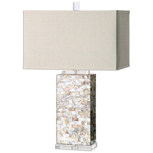 Uttermost Aden Capiz Shell Lamp by Billy Moon