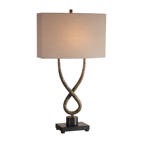 Uttermost Talema Aged Silver Lamp by Jim Parsons