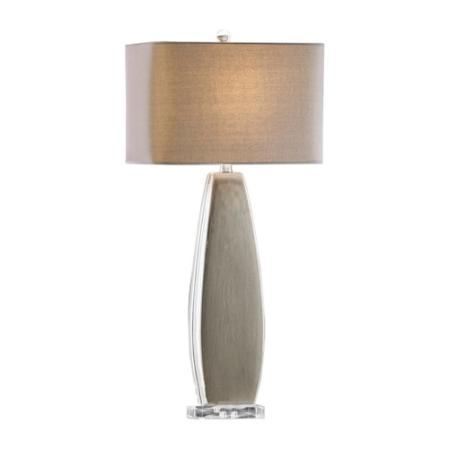 Uttermost Michalla Charcoal Lamp by Jim Parsons