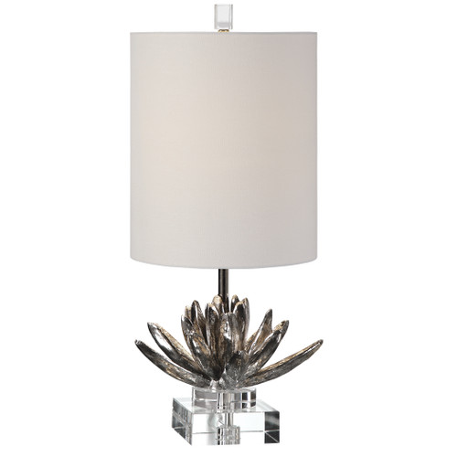 Uttermost Silver Lotus Accent Lamp by David Frisch