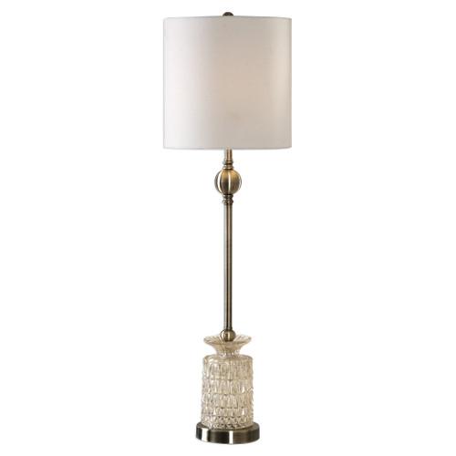 Uttermost Flaviana Antique Brass Buffet Lamp by David Frisch