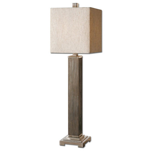 Uttermost Sandberg Wood Buffet Lamp by Carolyn Kinder