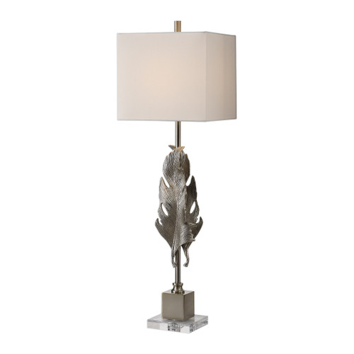 Uttermost Luma Metallic Silver Lamp by Billy Moon