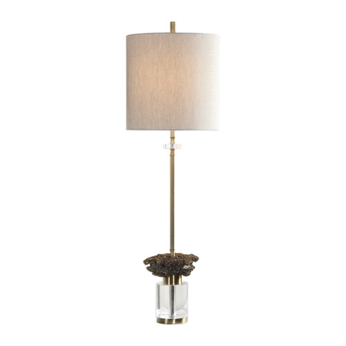 Uttermost Kiota Wasp's Nest Buffet Lamp by David Frisch