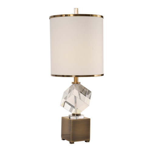 Uttermost Cristino Crystal Cube Lamp by Billy Moon