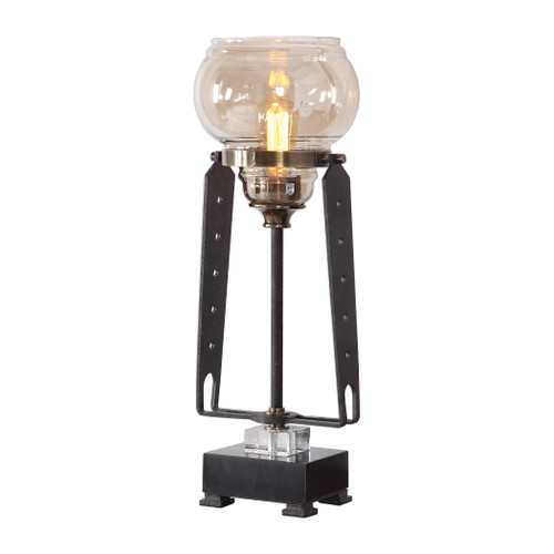 Uttermost Curie Industrial Accent Lamp by Matthew Williams